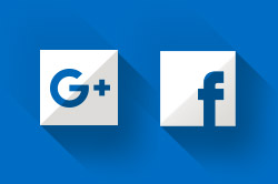 Google+ and Facebook